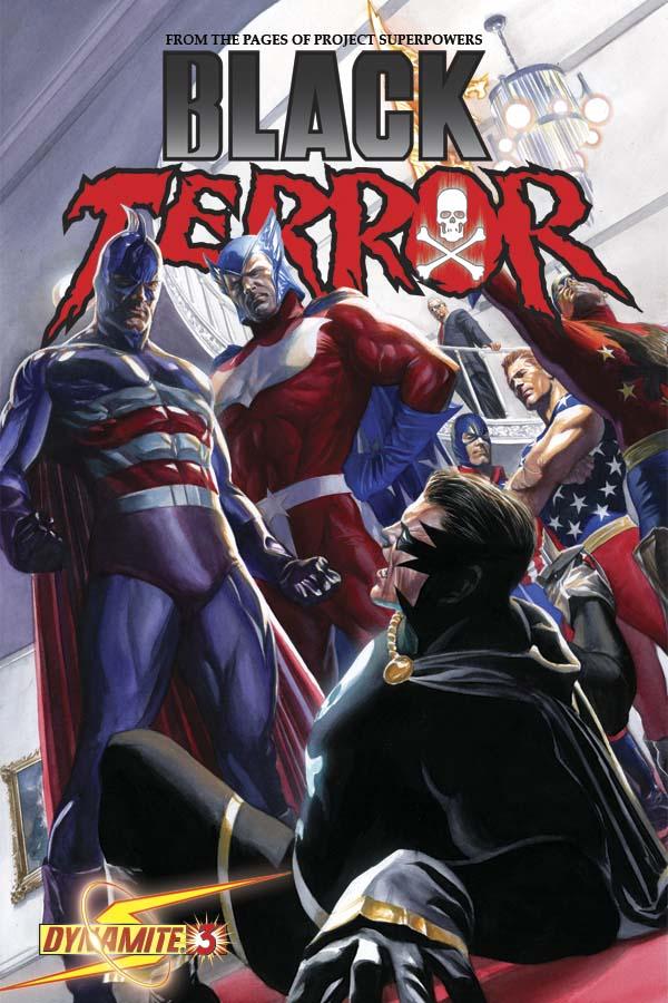 BlackTerror03CovRoss George Tuska And John Romita Sr. Cover The Black Terror