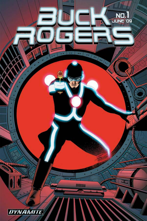 BuckRogers01cov-Cass Dynamite's Buck Rogers #0:  The Future Begins May 2nd
