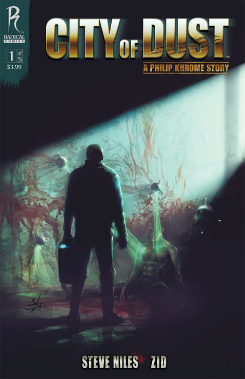 COD1_Cover_Zid_CoverE City Of Dust #1 To Feature Five Covers