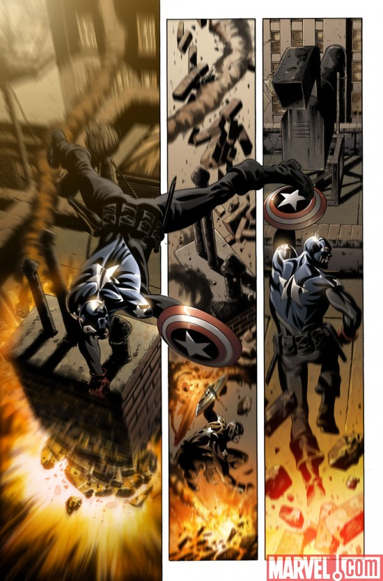CaptainAmerica_50_Preview1 Preview Captain America's Landmark Issue #50