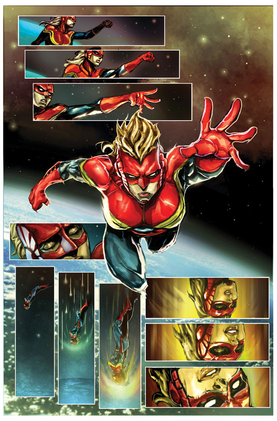 CaptainMarvel_1_Preview2 First Look at CAPTAIN MARVEL #1