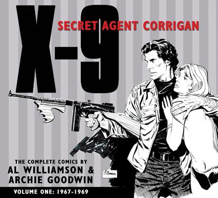 Corrigan1_cvr Hardcover series of Secret Agent Corrigan starts in July