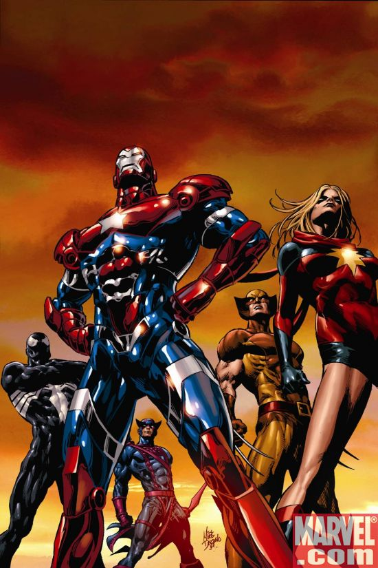 DARKAVE1_2nd The Dark Avengers Return With Brand New 2nd Printing Cover