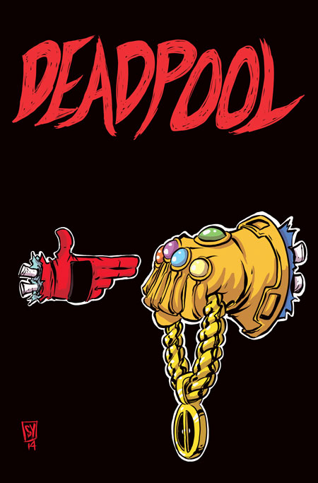 DPOOL250RTJvar Deadpool and Howard The Duck feature RUN THE JEWELS variants