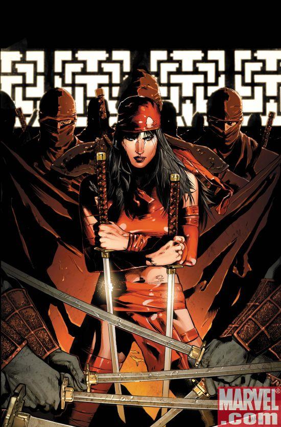 DRKELKTRA1cov_Var Dark Reign Elektra #1 Preview