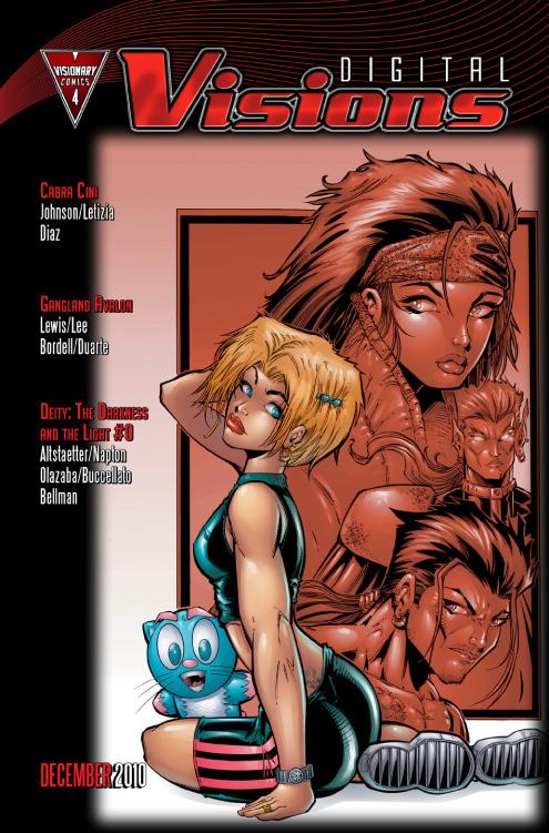 DV4Pic4 Cabra Cini makes her color debut in DIGITAL VISIONS #4