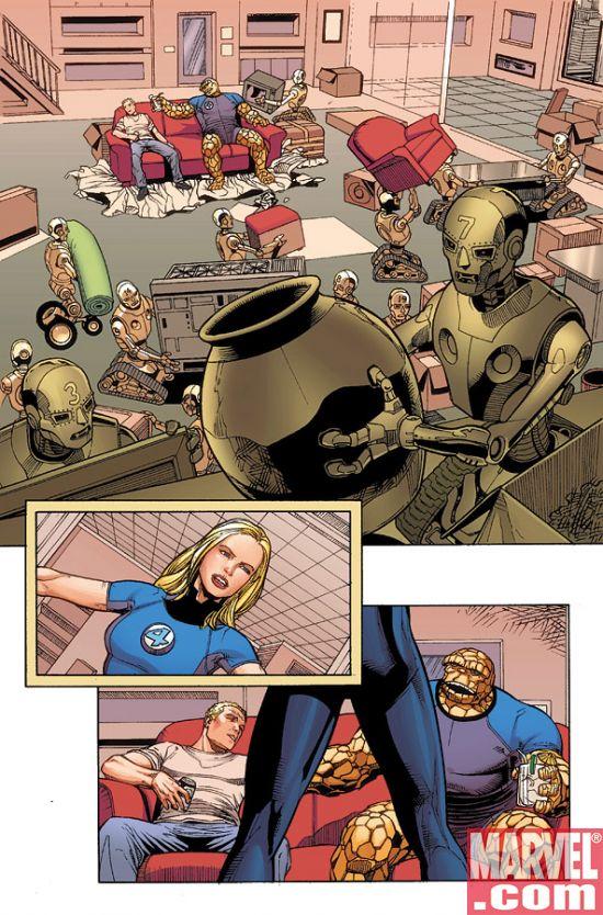DarkReign_FF_01_Preview1 Dark Reign Fantastic Four #1 Preview