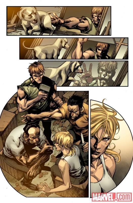 DarkWolverine_80_Preview4 Preview Daken's Revenge and Dark Wolverine issue 80