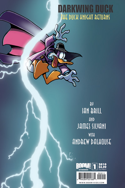 DarkwingDuck_01_CVR_2ndprint DARKWING DUCK #1 sells out, goes to second printing