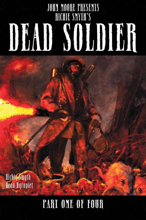 DeadSoldier01-cov-Temp DEAD SOLDIER to be released by Dynamite and Liquid Comics