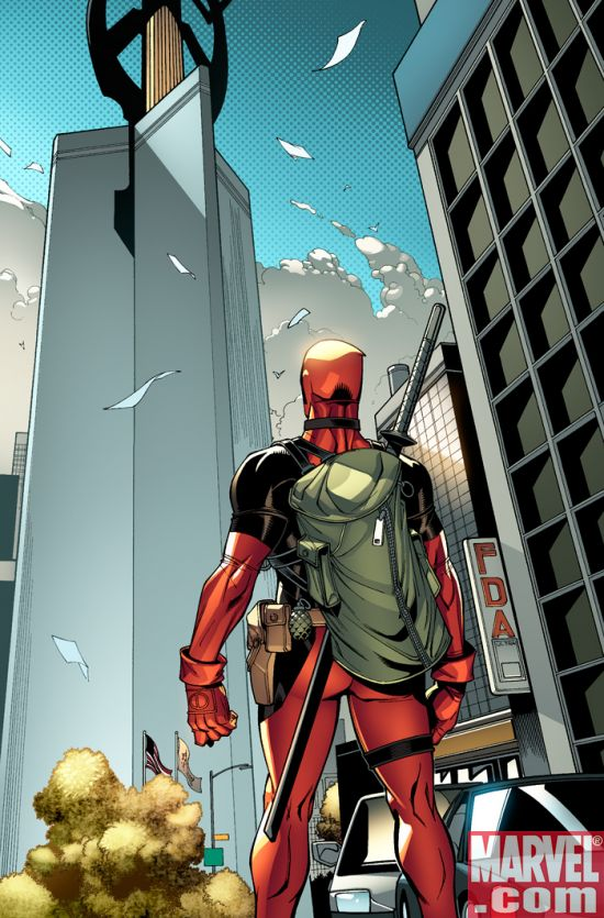 Deadpool_08_Preview1 Deadpool and Thunderbolts Collide in Magnum Opus Crossover
