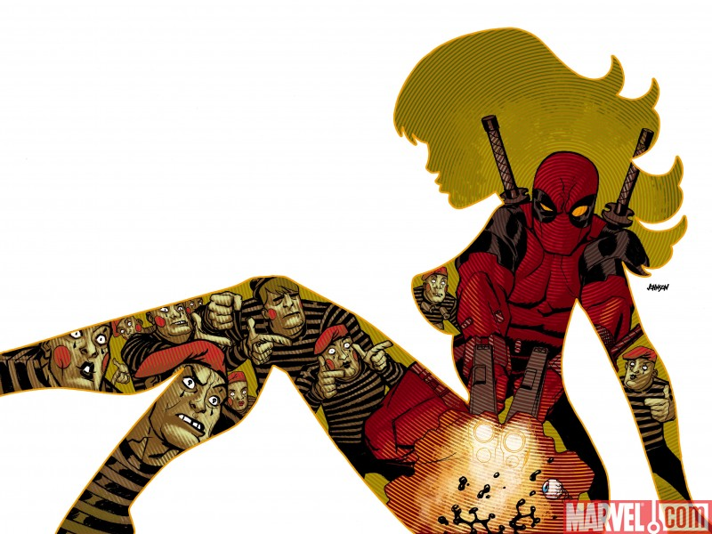 Deadpool_900_Cover Strike Up The Band: Deadpool #900 Is Here!