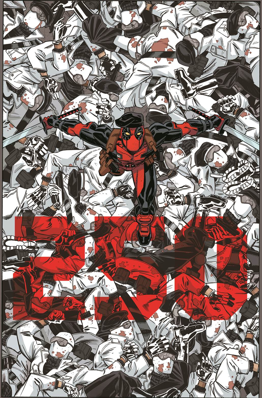 Deadpool_Number_250_Cover Celebrate a 250th issue anniversary in April's DEADPOOL #45