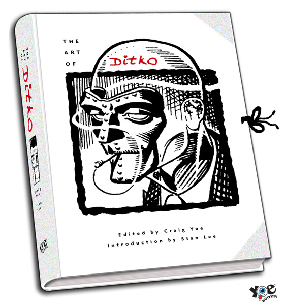 Ditko_cover IDW Announces Yoe! Books