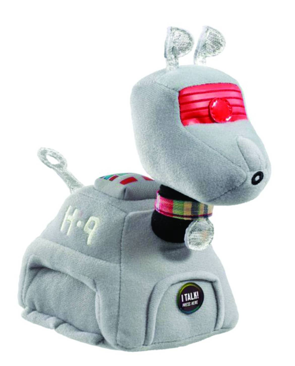 DoctorWhoPlush Celebrate the new Doctor Who with the PREVIEWS Exclusive K-9 Plush