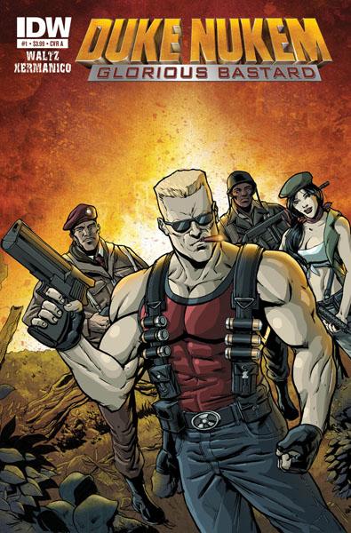 DukeNukem_GloriousBastard_01_cov First DUKE NUKEM comic series starts in July
