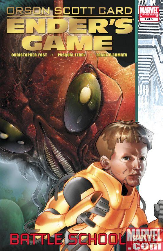 EndersGame_BattleSchool_01_Cover Ender's Game: Battle School #1 Preview
