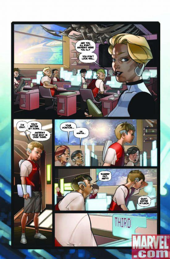 EndersGame_BattleSchool_01_Preview4 Ender's Game: Battle School #1 Preview