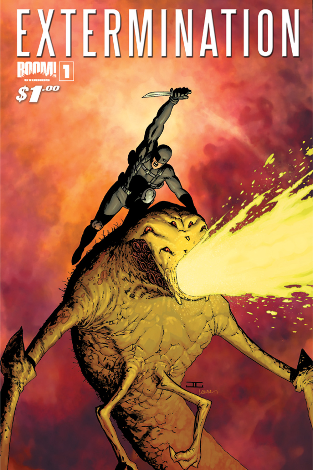 Extermination_1_CVA_newred BOOM! Studios launches EXTERMINATION for only $1
