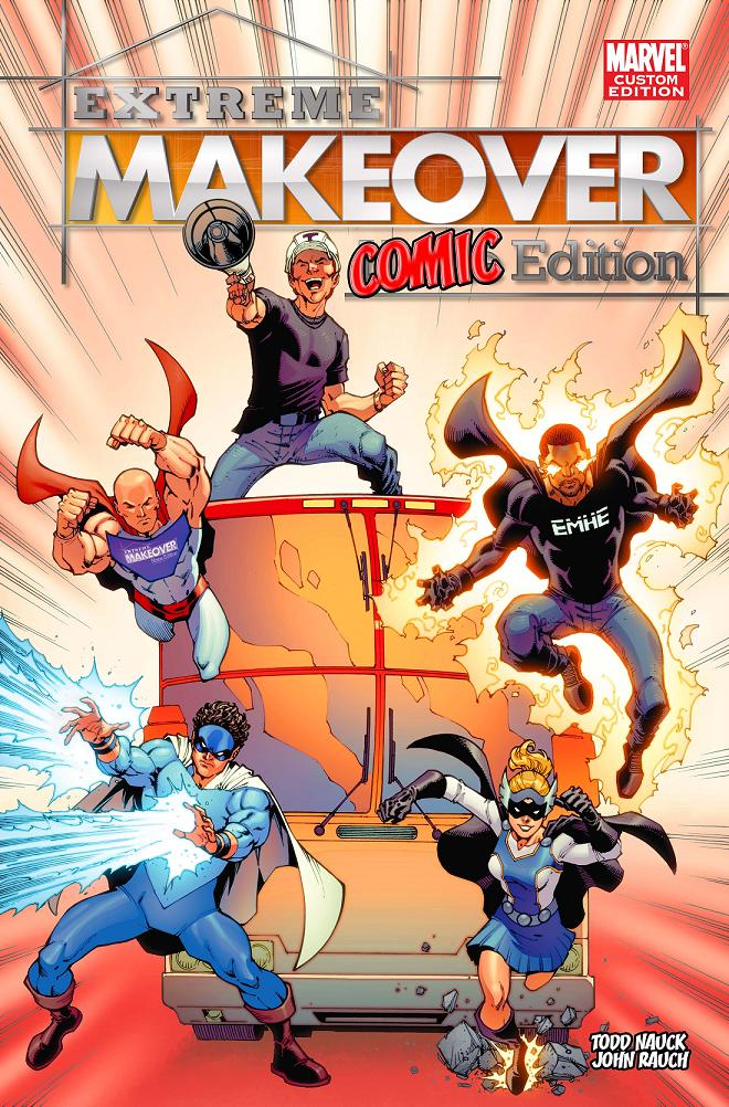 ExtremeMakeoverComicEdition Marvel Custom Solutions joins forces Extreme Makeover: Home Edition