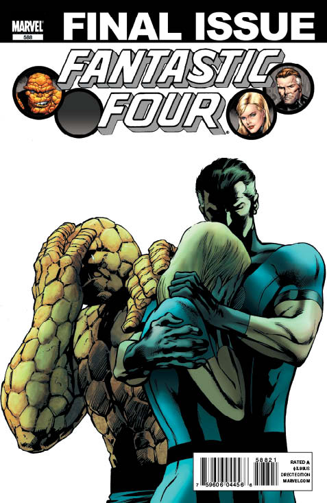 FANTASTIC_FOUR_588_SecondPrintCover FANTASTIC FOUR #588 2nd printing to include script
