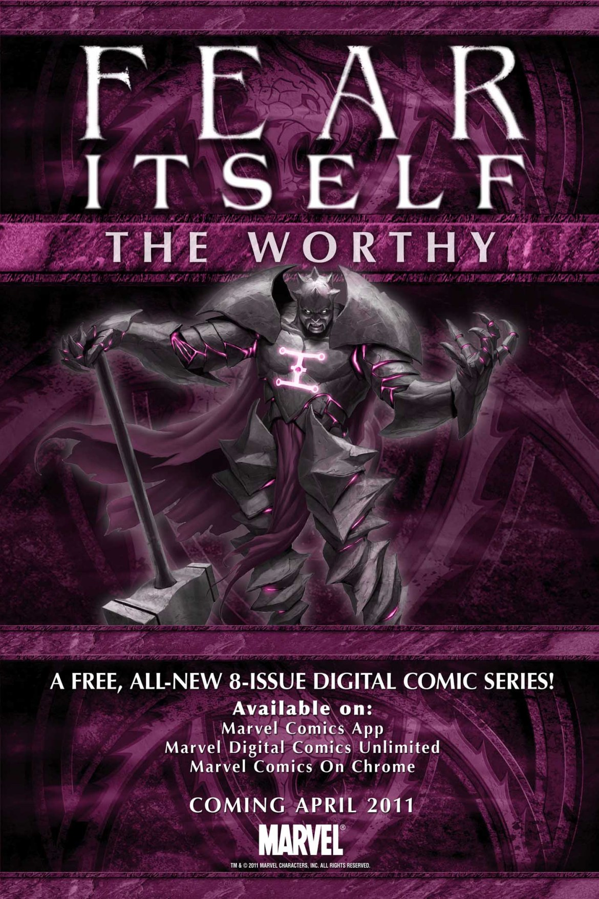 FEAR_ITSELF_THE_WORTHY Marvel announces FEAR ITSELF: THE WORTHY