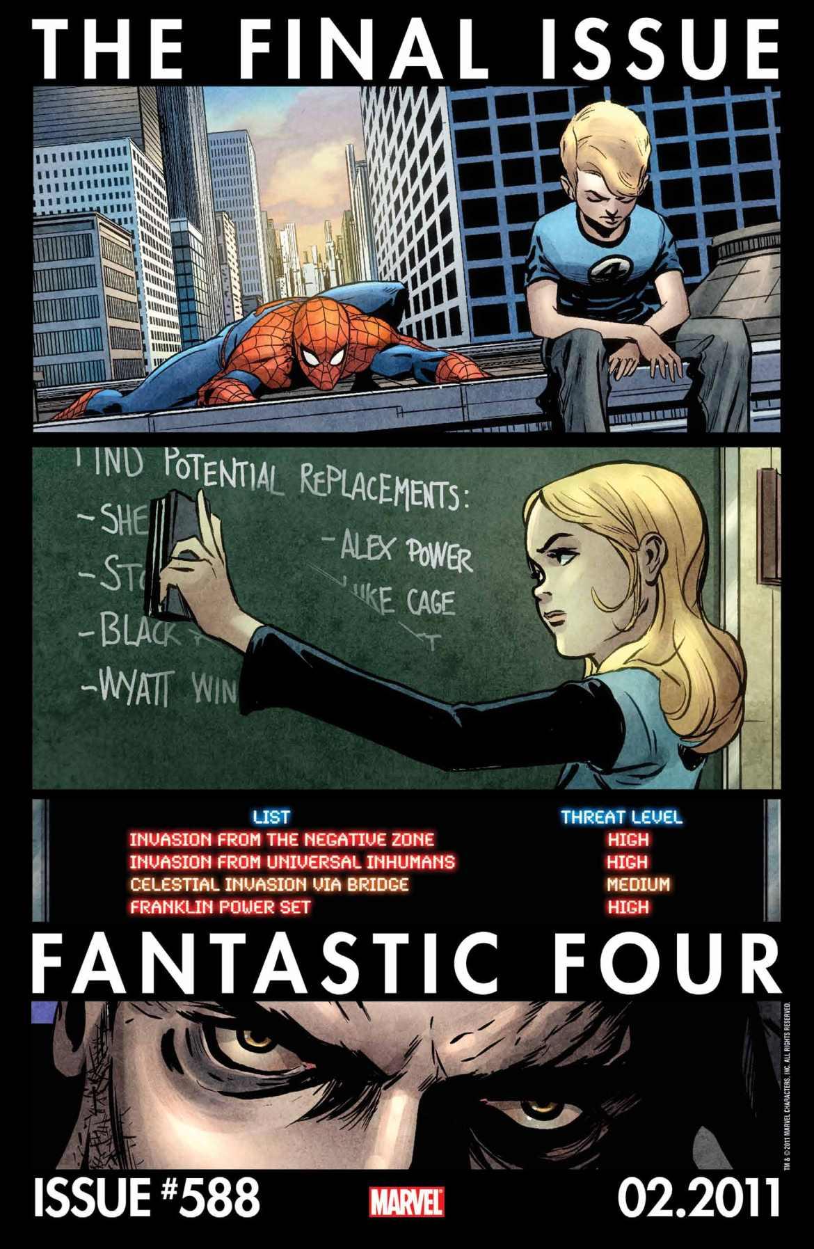 FF588_Teaser FANTASTIC FOUR #588: Final Issue TEASER