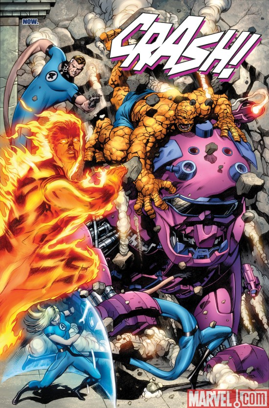 FantasticFour_570_Preview3 A First Look Inside FANTASTIC FOUR #570