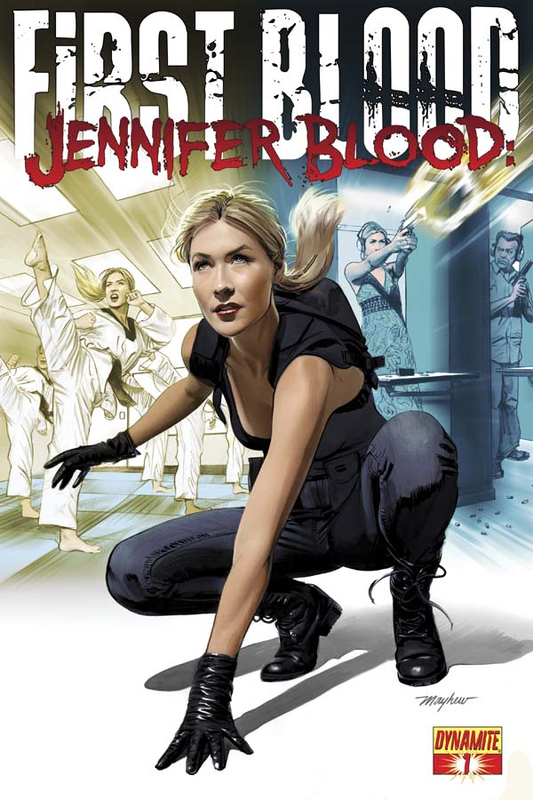 FirstBlood01-Cov-Mayhew The past will be revealed in JENNIFER BLOOD: FIRST BLOOD