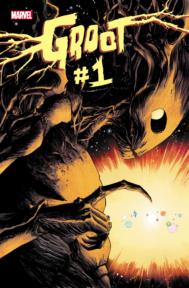 Groot_1_Cover New solo series starring GROOT coming this June