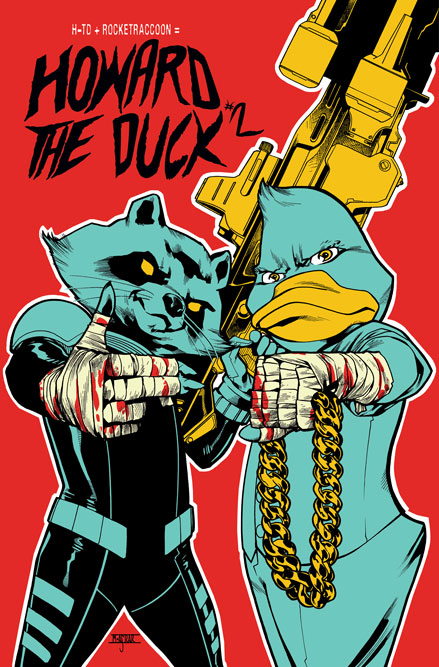 HOWARD2015002_RTJ_layers Deadpool and Howard The Duck feature RUN THE JEWELS variants