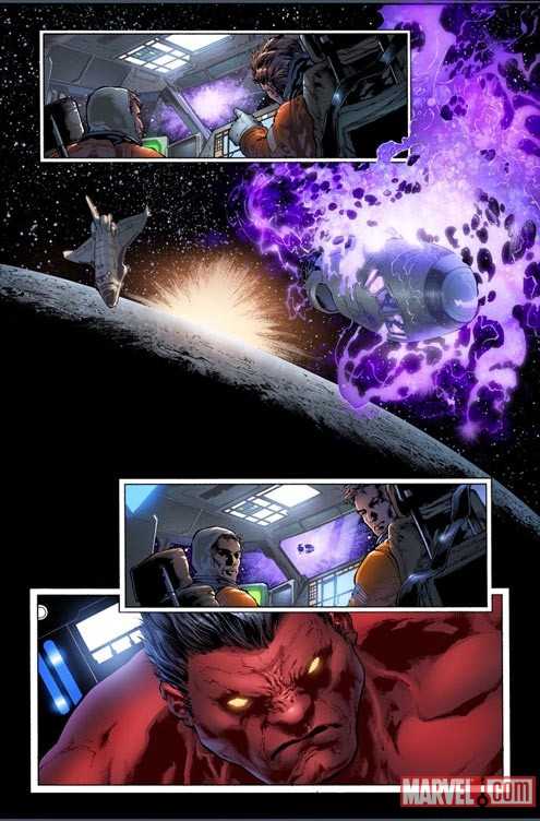 HULK_34_PREVIEW1 First Look at PLANET RED HULK