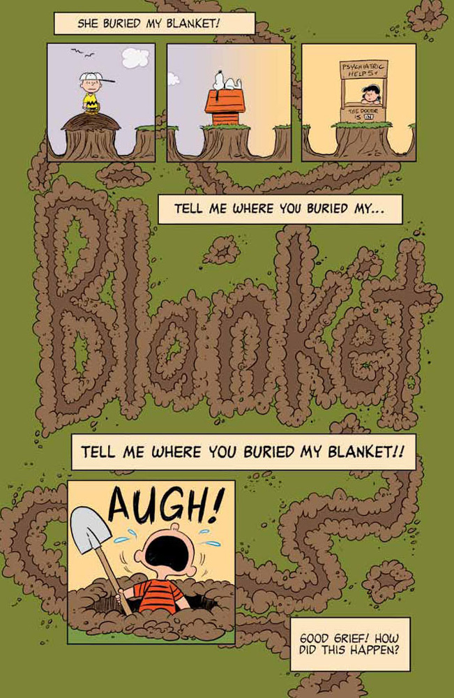 Happiness_is_a_Warm_Puppy_Charlie_Brown_Preview_Page_01 KABOOM! to release HAPPINESS IS A WARM BLANKET CHARLIE BROWN