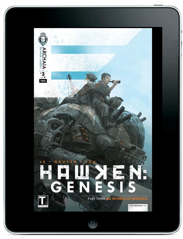 Hawken_Genesis_03_Archaia_comiXology 3rd digital HAWKEN: GENESIS vailable exclusively through comiXology