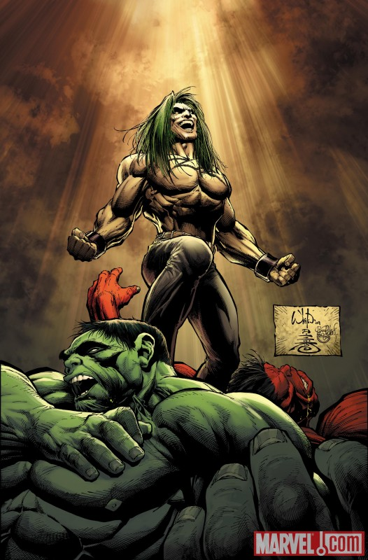 Hulk_18_Cover Whilce Portacio returns to Marvel to begin The Fall Of The Hulks