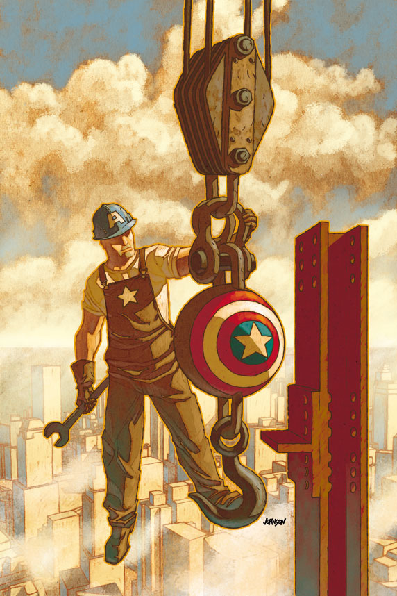 I-am-Cap-Uncanny-X-Men-539 Marvel unleashes I AM CAPTAIN AMERICA variant covers
