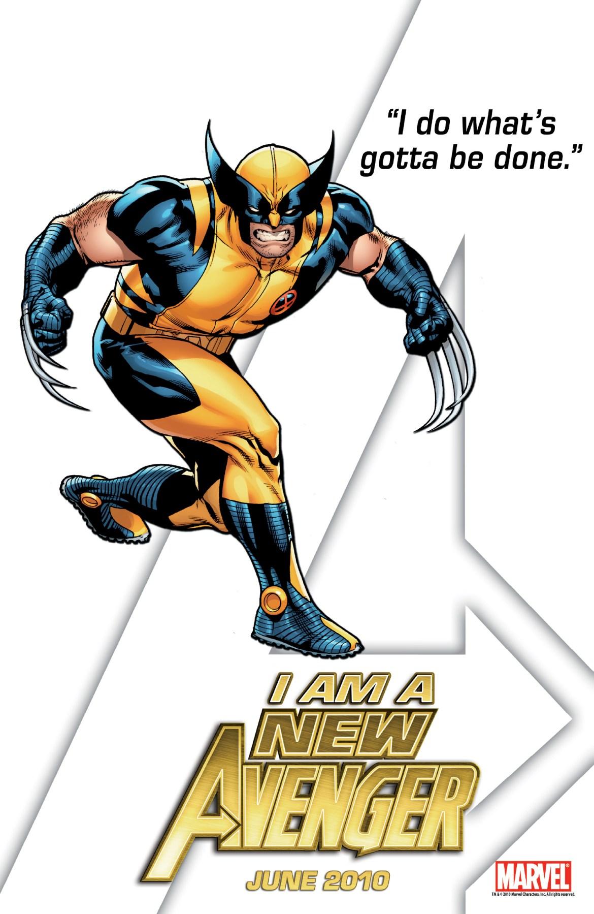 IAmAnAvenger_NewAvengers_03 Wolverine is a New Avenger