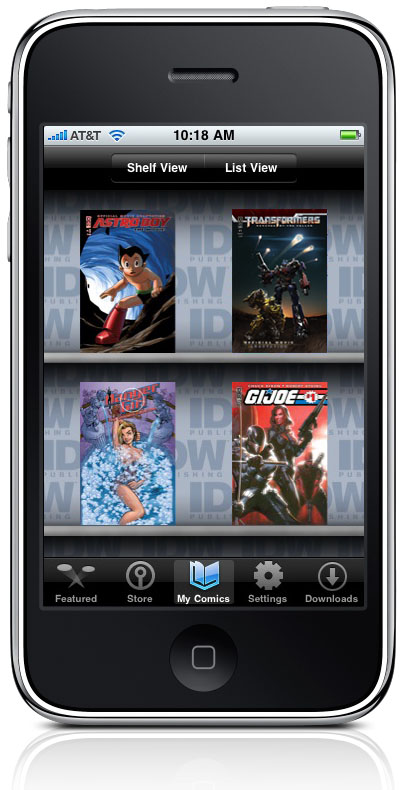 IDWstorefront IDW Publishing to appear at Macworld