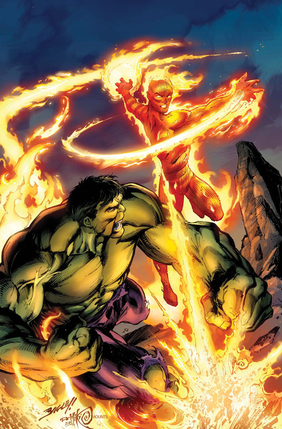 IHulkHTorch_MVault_1_Cover First Look At  HULK AND TORCH: FROM THE MARVEL VAULT #1