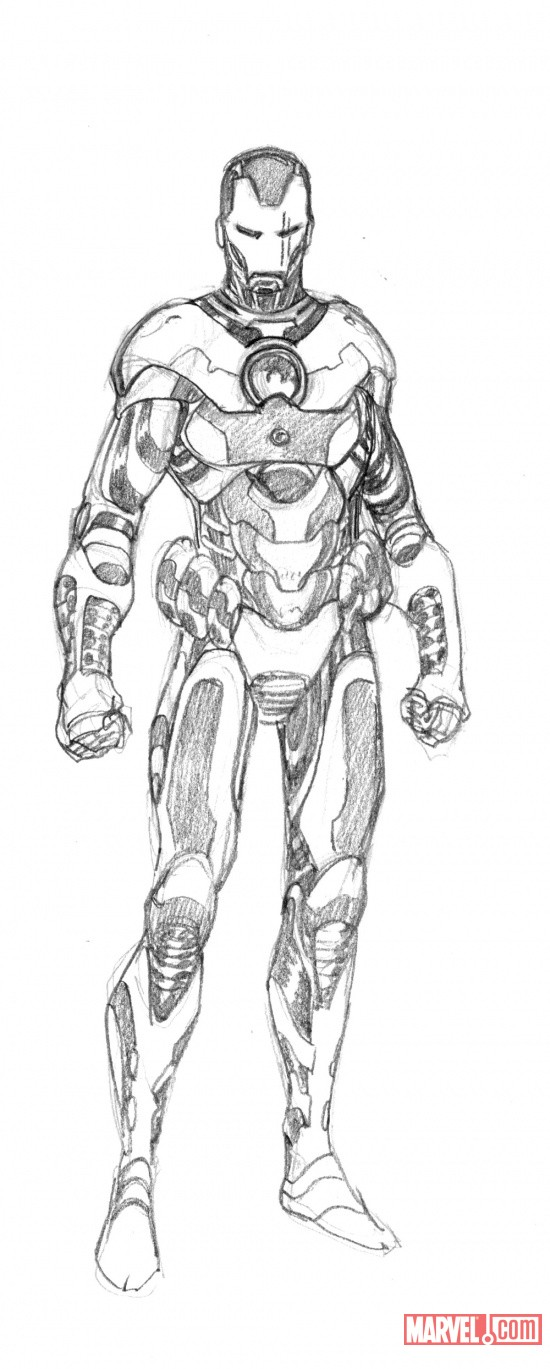Iron Man 20 War Machine Evolved