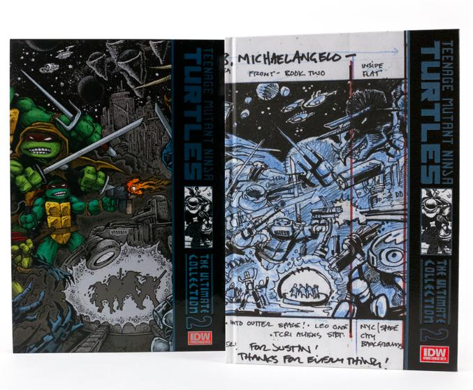 IMG_4731589abf IDW Limited issues 2nd Teenage Mutant Ninja Turtles Book Ultimate Collection