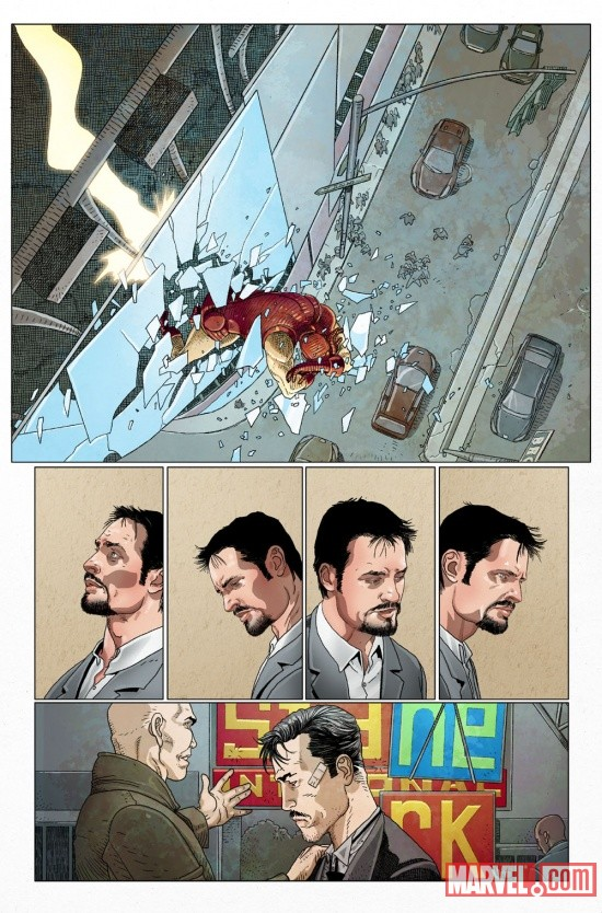 INVIRONMAN_500p1_Preview3 Marvel Point One soars with INVINCIBLE IRON MAN #500.1