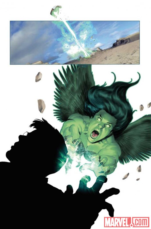 IncredibleHulk_604_Preview4 Preview of Incredible Hulk issue 604