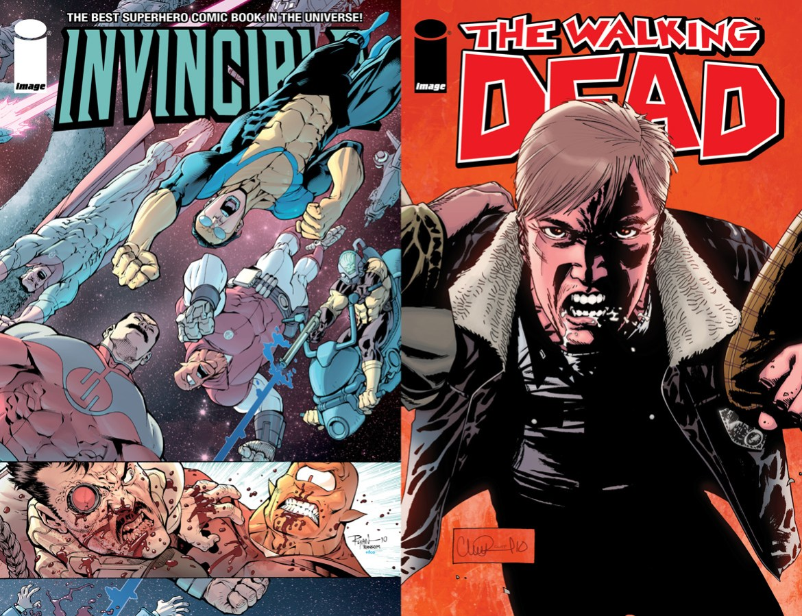 InvincibleWalkingDead75 Celebrate the 75th issues of INVINCIBLE and THE WALKING DEAD
