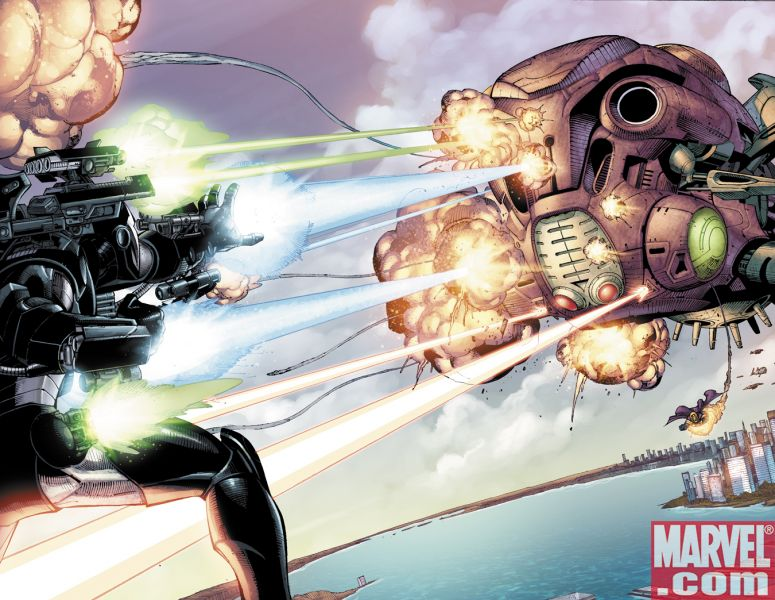 IronManDOS_33_Preview3 Iron Man Director Of SHIELD #33 Preview