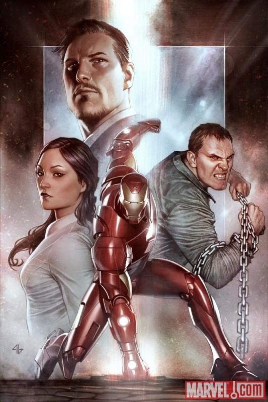 IronManExtremisHC_GranovCover Marvel unveils Granov's new Iron Man cover