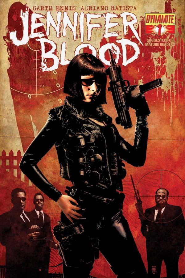 JenBlood01-Cov-Bradstreet Early look at Garth Ennis' JENNIFER BLOOD #1