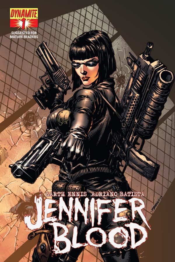 JenBlood01-Cov-DESJARDINS Early look at Garth Ennis' JENNIFER BLOOD #1