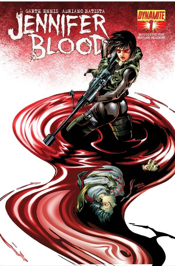 JenBlood01-Cov-Lau Early look at Garth Ennis' JENNIFER BLOOD #1