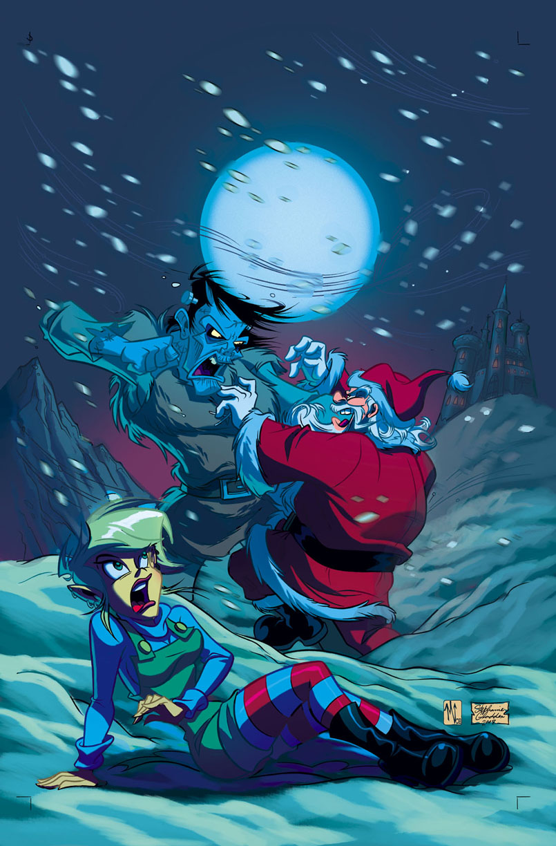 JingleBelle Paul Dini Brings The Dinicartoons Universe To Top Cow